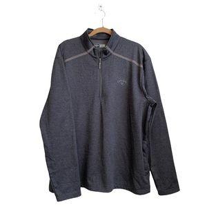 Callaway Logo ¼ Zip Pullover Sweater